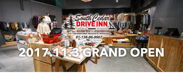 South Cedar DRIVE INN 2017.11.3 GRAND OPEN